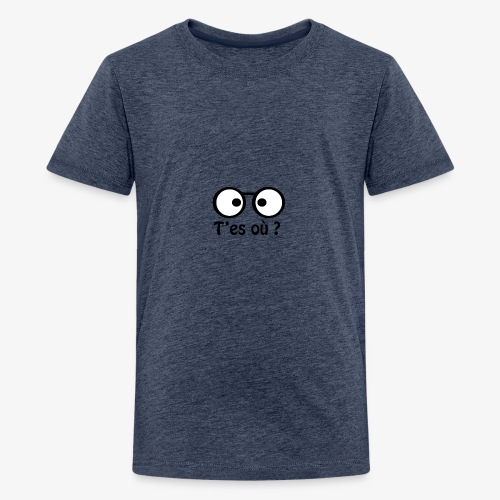 Binocle - T-shirt Premium Ado