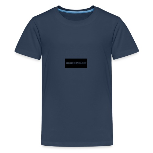 #OLOKORNOLOCK - Premium-T-shirt tonåring