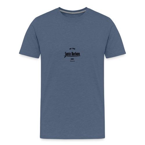 big santa barbara surf - Camiseta premium adolescente