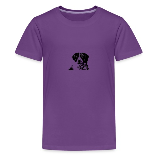 Barry - St-Bernard dog - Teenager Premium T-Shirt