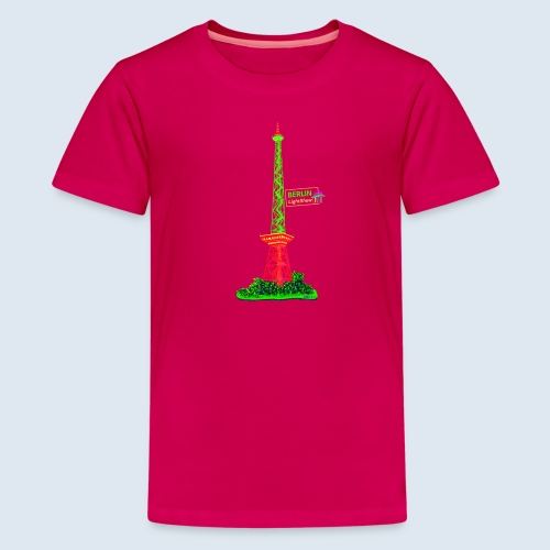 Funkturm Berlin PopArt ickeshop BachBilder - Teenager Premium T-Shirt