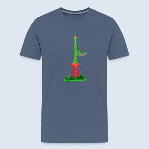 "Berliner Original ""Funkturm"" PopArt Design - Teenager Premium T-Shirt"