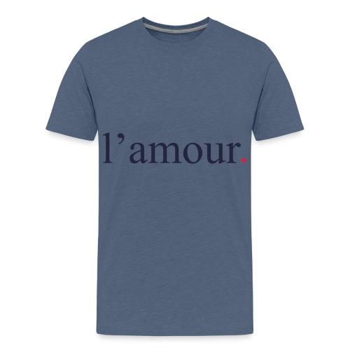 lamour - T-shirt Premium Ado