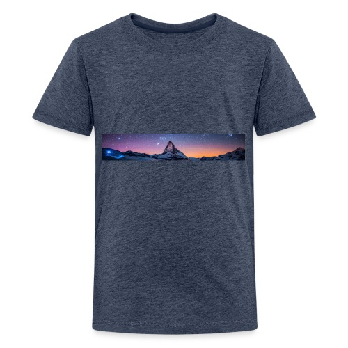 Mountain sky - Teenager Premium T-Shirt