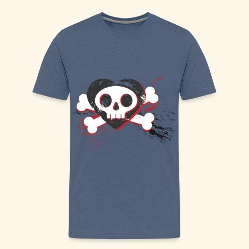 Crane coeur - T-shirt Premium Ado