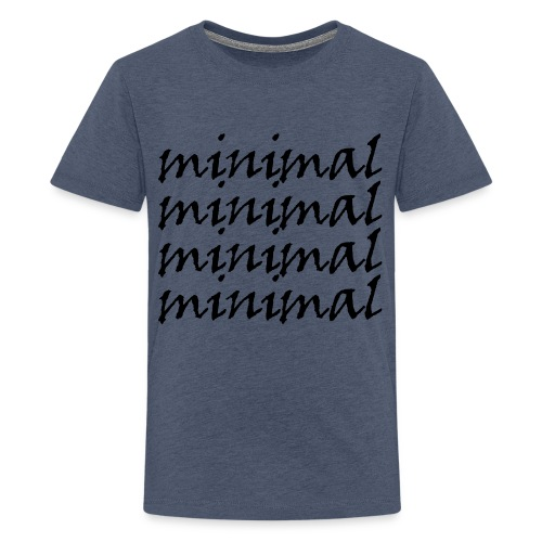 Minimal Design - Teenager Premium T-Shirt