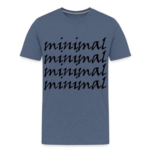 Minimal Design - Teenager Premium T-Shirt