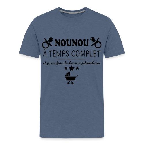 nounou a temps complet - T-shirt Premium Ado