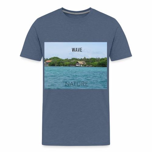 NATURE WAVE - Camiseta premium adolescente