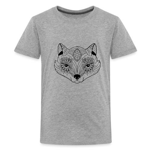 mandalafox - Teinien premium t-paita
