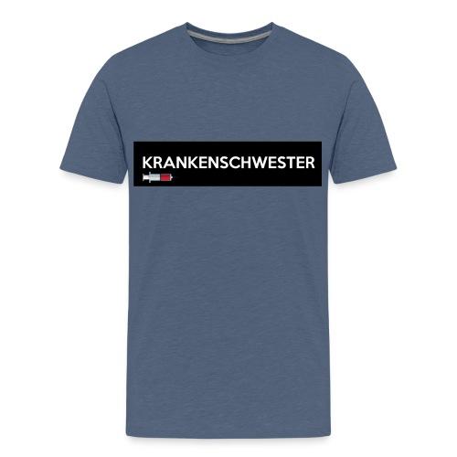 Krankenschwester mit Spritze - Teenager Premium T-Shirt