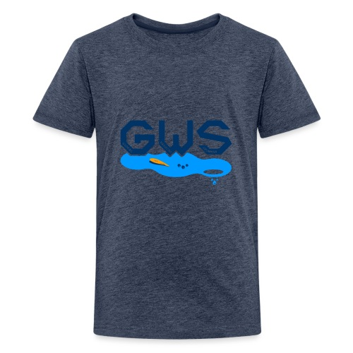 Global Warming Snowman - T-shirt Premium Ado