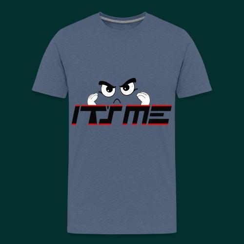 Faccia arrabbiata - Maglietta Premium per ragazzi