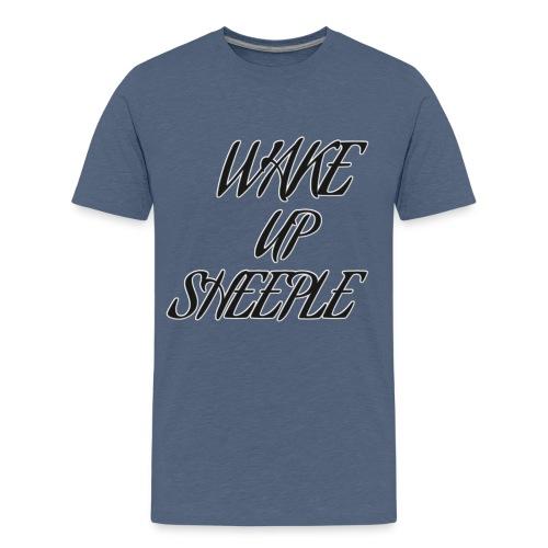 WAKE UP SHEEPLE - Teenager Premium T-Shirt