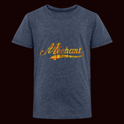 méchant madras - T-shirt Premium Ado