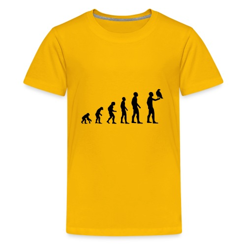 Evolution Falkner - Teenager Premium T-Shirt