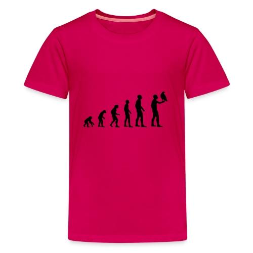 Evolution Falkner - Teenager Premium T-Shirt