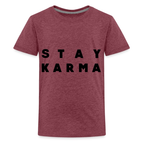Stay Karma - Maglietta Premium per ragazzi