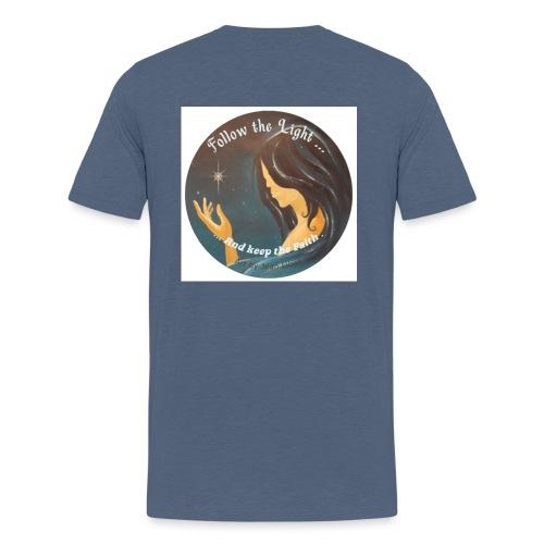 Follow the light, d'après le peinture Améthyste - T-shirt Premium Ado