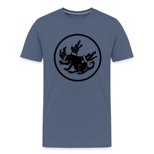 cerberus logo rund - Teenager Premium T-Shirt