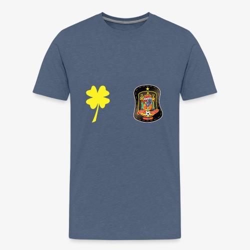 Trébol de la suerte CEsp - Camiseta premium adolescente