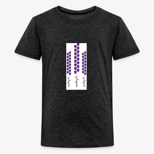 Vivo illustrasjon - Premium T-skjorte for tenåringer