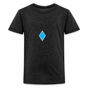Diamond blue - Teenage Premium T-Shirt