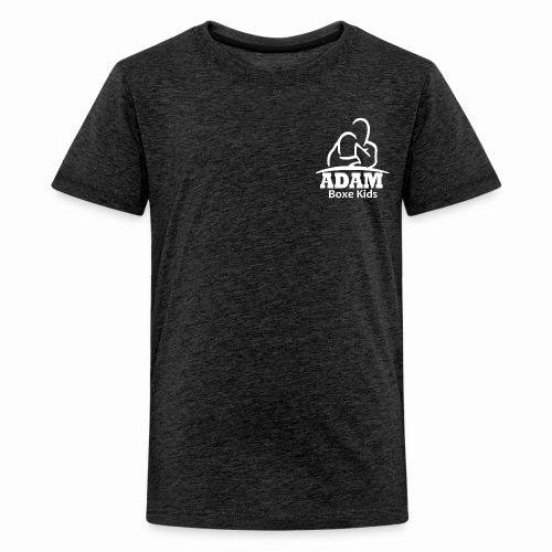 logo adam boxe enfant blanc - T-shirt Premium Ado