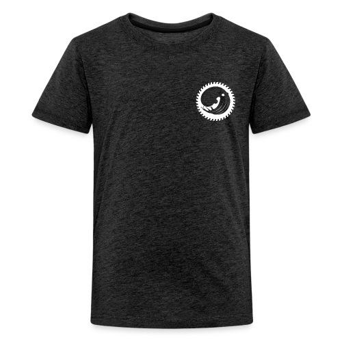ZOURIT WOODSHOP BLANC - T-shirt Premium Ado