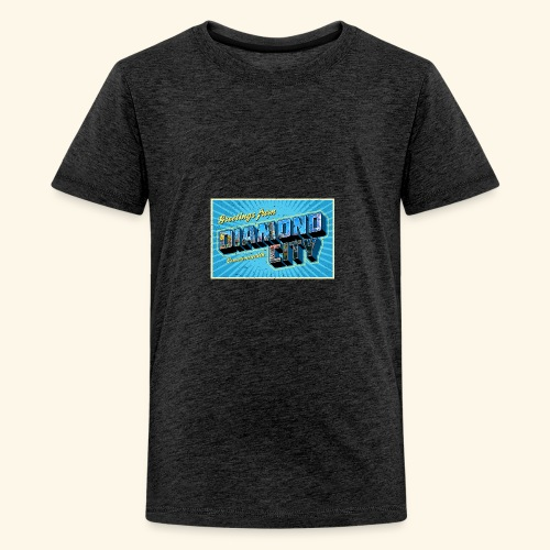 fall twitter - Teenager Premium T-Shirt