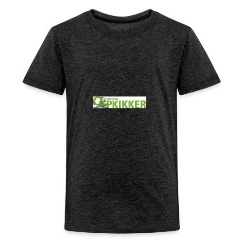 Logo Opkikker - Teenager Premium T-shirt