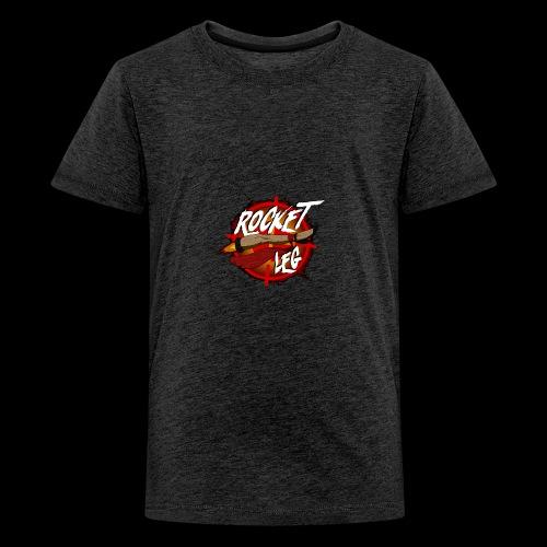 Rocket Leg - Premium-T-shirt tonåring