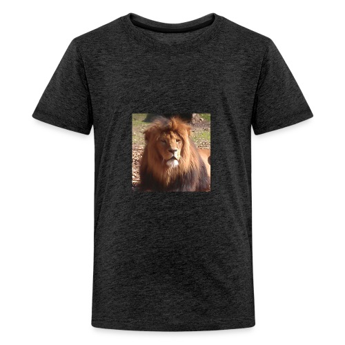 Lejon - Premium-T-shirt tonåring