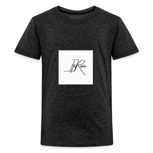Small logo white bg - Teenage Premium T-Shirt