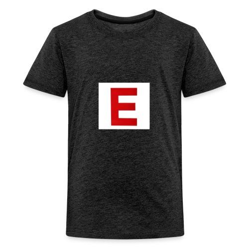 Itz Ethan Red Logo T-Shirt - Teenage Premium T-Shirt