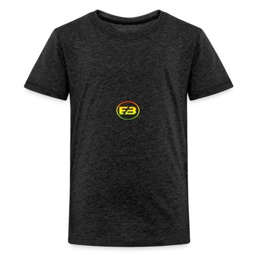 logo rasta - Teenage Premium T-Shirt