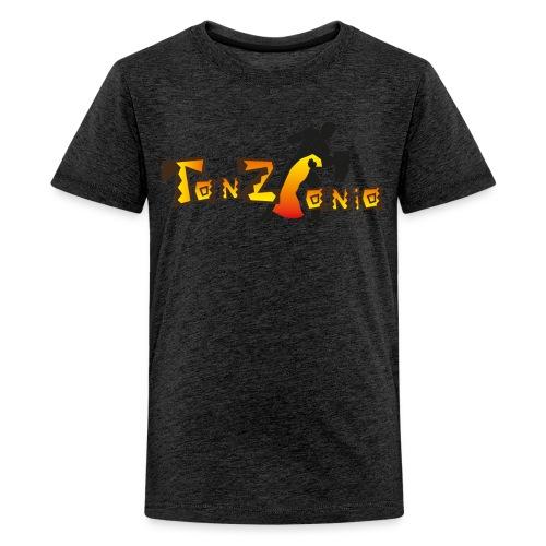 tanzania_dunkel aktuell - Teenager Premium T-Shirt