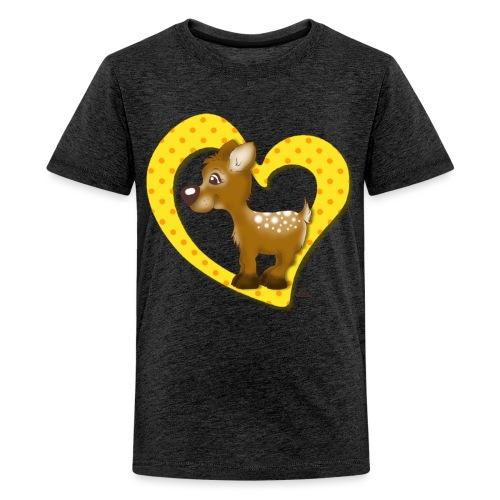 Kira Kitzi Zitronella - Teenager Premium T-Shirt