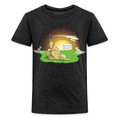 Australie VS Nouvelle Zélande - T-shirt Premium Ado