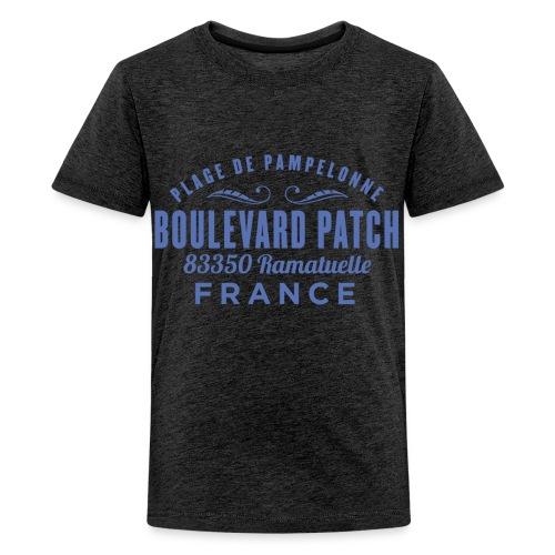 Plage De Pampelonne - Boulevard Patch - Ramatuelle - Teenager Premium T-shirt