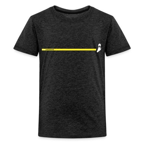 Yello line - Maglietta Premium per ragazzi