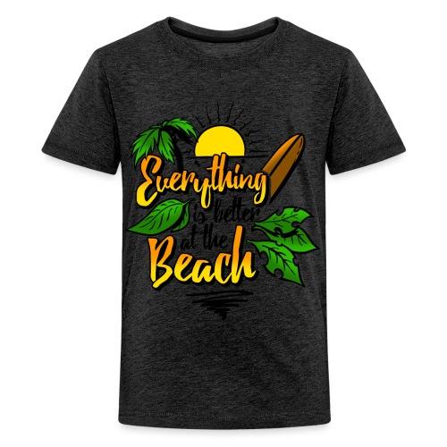 Beach-colour - Teenager Premium T-Shirt