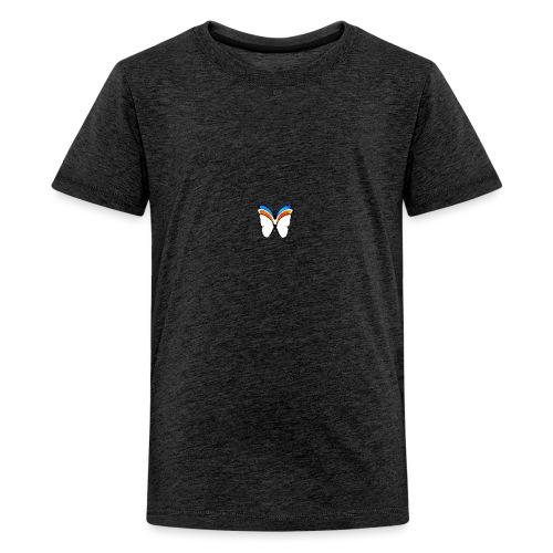 Triple Butterfly - Teenage Premium T-Shirt