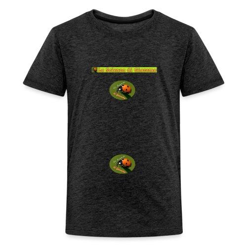 la scienza di giacomo logo maglietta PNG - Maglietta Premium per ragazzi
