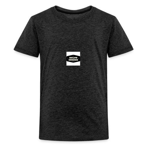 skilifesweden 1 - Premium-T-shirt tonåring