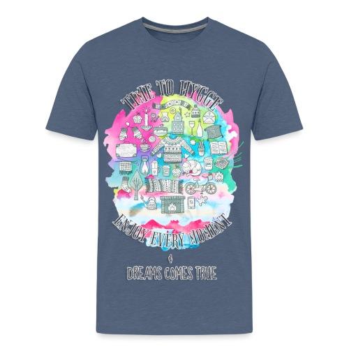 Time to Hygge - T-shirt Premium Ado