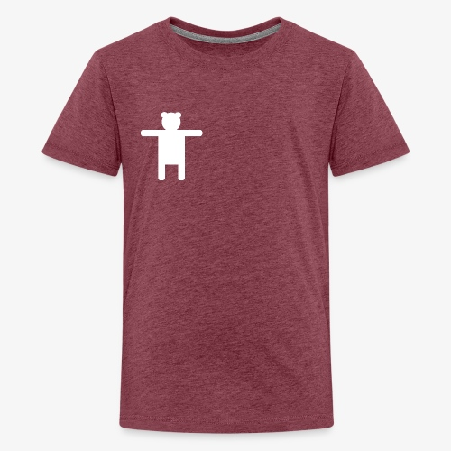 Women's Pink Premium T-shirt Ippis Entertainment - Teinien premium t-paita