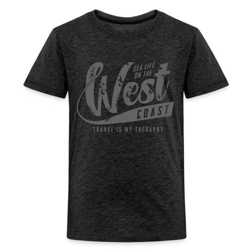 West Coast Sea surf clothes and gifts GP1306B - Teinien premium t-paita