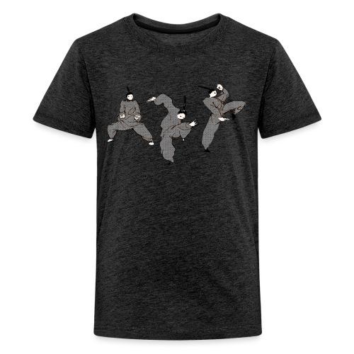 Kungbao - Martial Arts Kung Fu Kampfkunst Kombo - Teenage Premium T-Shirt