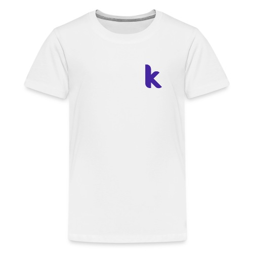 Classic Rounded Inverted - Teenage Premium T-Shirt